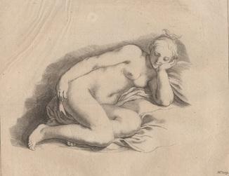 Старинная гравюра. 18 век. Неизвестный гравер. Бумага Верже. (35х30см.).