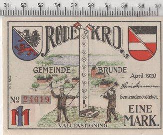 50 пфеннигов. Нотгельд. Германия.
