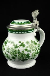 Коллекционная пивная кружка. Royal Tettau Bavaria. Anno 1800. Германия (0291)