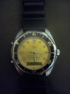 Часы Casio AMW-320D (1974 год)