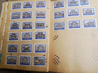 Этикетки советских спичек, марки