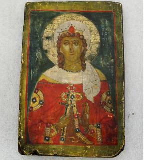 Походная/дорожная икона: Св. Варвара предохран. от скоропостиж. смерти.