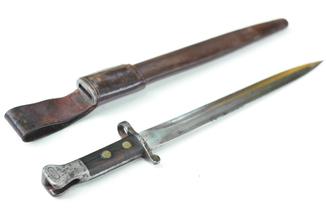 Штык образца 1888 года МК I тип 2 к винтовке системы Ли-Мэдфорд