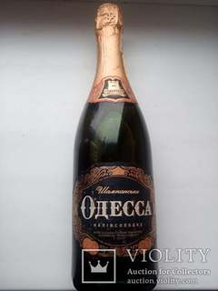 Шампанське ОДЕССА напівсолодке 2005 рік