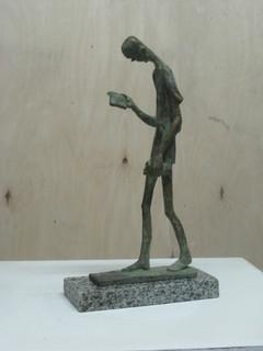"""Скульптура """"Идущий человек"""""""
