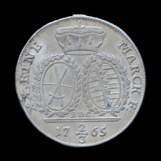 2/3 Талера 1765, Саксония