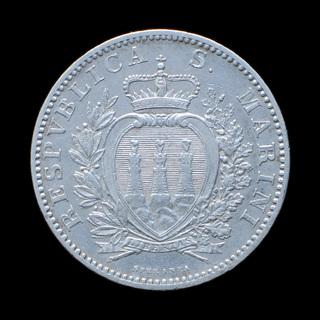 2 Лиры 1906 R, Сан-Марино