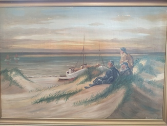 Морские волки/галерея Chr. Wilger/Sigaard/76*108 см