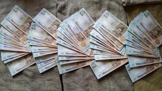 100 гривен 2-го поколения (5000 грн). 1/2 банковского корешка (50 шт). НБУ. Часть 2.