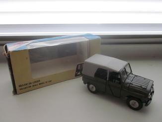 Модель ссср уаз 469 хаки а34 с коробкой