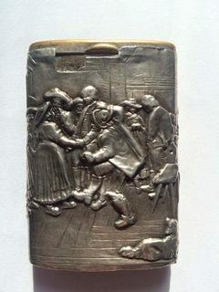 Cпичечница  (Серебро 800 , герб)