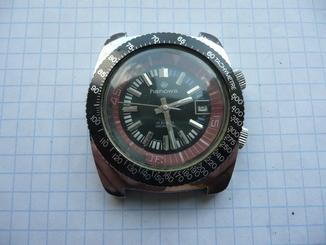 Часы HANOWA, тахометр.