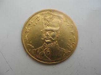 5000 динар Иран 1881  года