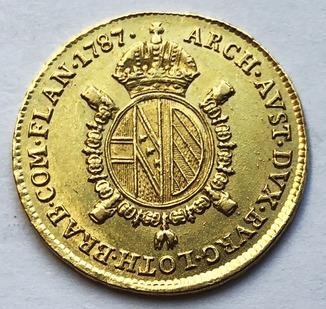 1/2 Соврано 1787 года.