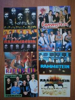"Календарики ""Rammstein"" 20 штук за 2003-2004г.г."