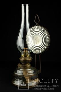 Коллекционная керосиновая лампа Kosmos Brenner. Винтаж. Германия. (0273)