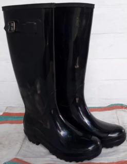 Высокие женские резиновые сапоги 39 размер