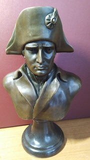 Скульптура бюст Наполеон бронза