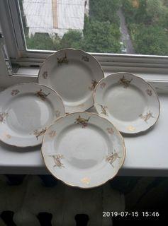 Кухонні красиві тарілки 4 шт