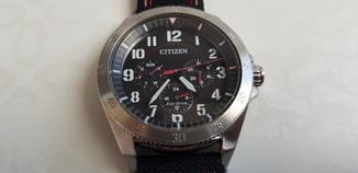 Часы citizen eco-drive BU2030-17E