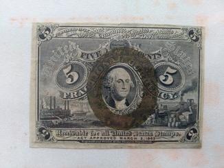 5 центов 1863