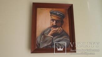 Портрет Юзефа Пилсудского. Польский неизвестный художник.Начало 90-х г.г ХХ в.