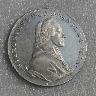 Талер 1777 Зальцбург