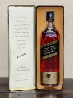 Виски Johnnie Walker Black Label 12 years - 1990s
