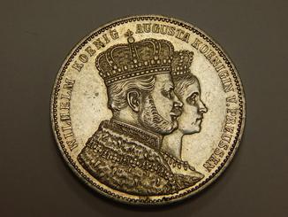 1 талер, 1861 г Пруссия