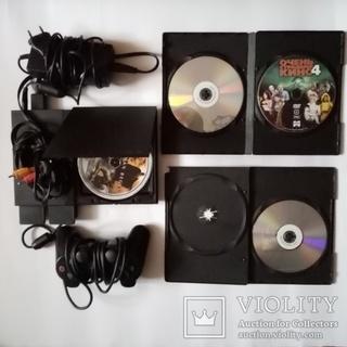 Игровая приставка Sony Playstation PS 2 . Сони плестейшин 2 + бонус