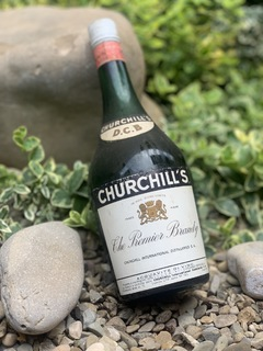 Churshill's Premier brandy 1970s
