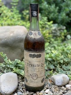 Brandy Ernesto Bardini + сертификат 1968