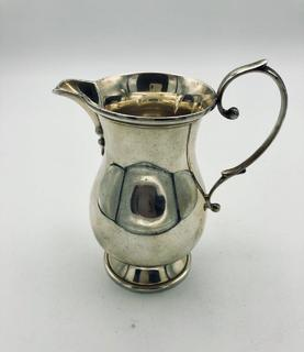 Молочник Сливочник (Соусник) Серебро 925 середина XX