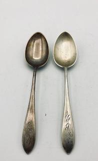 Чайные ложки. Серебро 925 пробы/Sterling