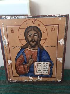 Икона Господь Вседержитель из деисусного чина