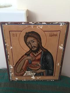 Икона Св. Иоан из деисусного чина