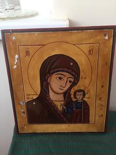 Икона Казанская из деисусного чина