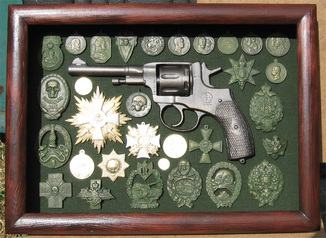 Мировая война на Украине. Копии, со стеклом, 38х28см.