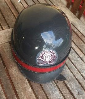 Каска служащего (Мотоцикл) Телеграф-Почта.Италия 1950-е