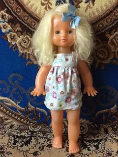 Большая кукла СССР рост 62  см  из коллекции