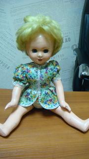 Кукла пресс-опилки, высота - 38 см