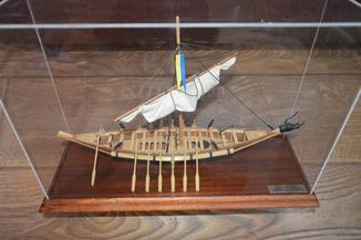 Макет Козацька чайка Пресвята Покрова 16 сторіччя