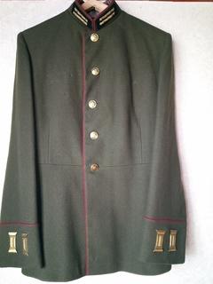 Мундир Артиллериста обр.43 г./пошит в Германии на 52год.+ нательная рубаха под него