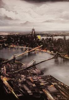 Картина ''Вогні Нью Йорку''100см х 70см