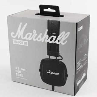 Наушники с микрофоном Marshall Major III Black COIL CORD