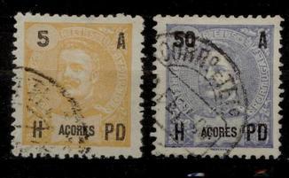 Азорські о-ви 1906 локали Португалії