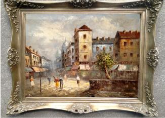 Картина,холст,масло (Франция)