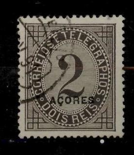Азорські о-ви 1885 №53аС перф. 13,5 КЦ 22євро повна серія