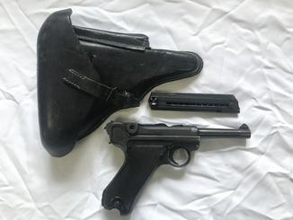 Пистолет Люгера Парабеллум P08 ММГ с кобурой