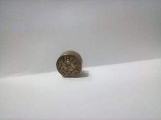 Печатка іменна із латуні на ім'я Матюшенко Л.П.
